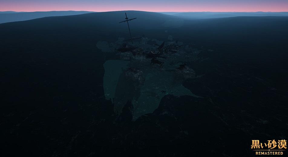 マゴリアの交易(物々交換)場所 難破したリックンの船