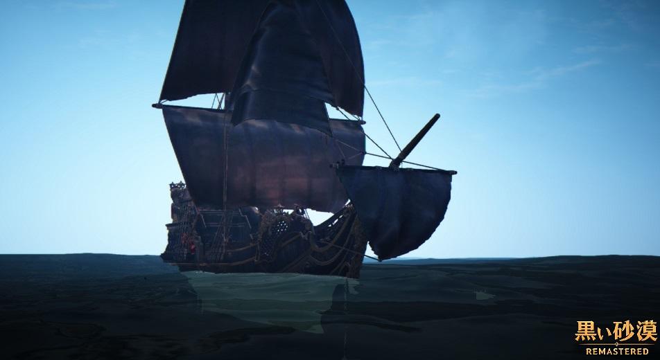 マゴリアの交易(物々交換)場所 カラス商団所有の船舶